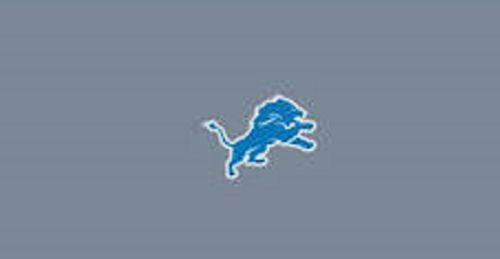 Lions felt pool table cloth