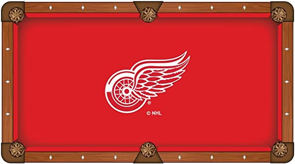 Holland Bar Stool Co. Detroit Red Wings Pool Table Cloth