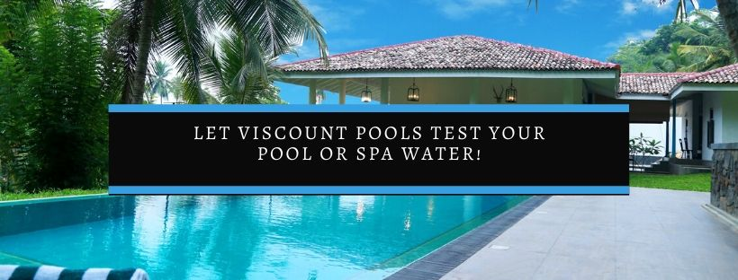 Pool water testing methods