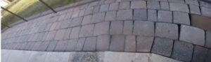blocks décor around pool